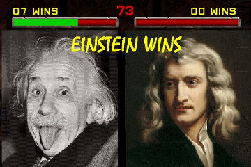 Relativity: you can't choose your family, but you can pick your physics.